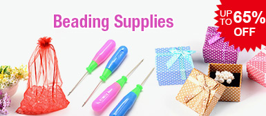 Beading Supplies UP TO 65% OFF