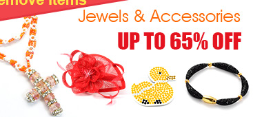 Limited Stock Items - Jewels & Accessories UP TO 65% OFF