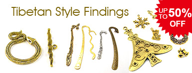 Tibetan Style Findings UP TO 50% OFF