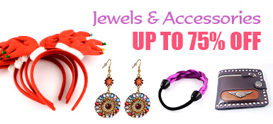 Jewels & Accessories UP TO 75% OFF