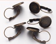 Hoop Earrings Components