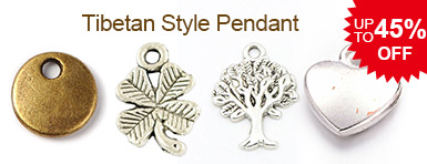 Tibetan Style Pendant UP TO 45% OFF