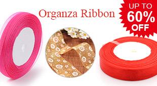 Organza Ribbon UP TO 60% OFF
