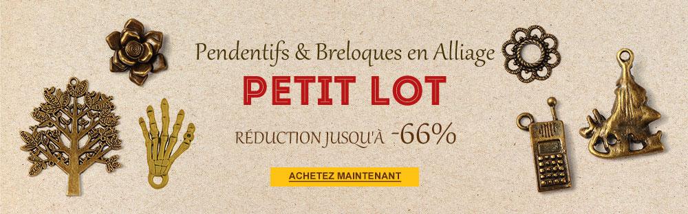 Pendentifs&Breloques Alliage en Petit Lot Réduction Jusqu'à -66%
