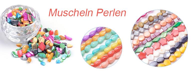 Muscheln Perlen