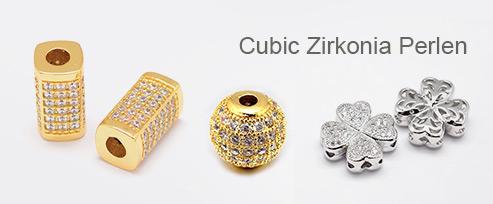 Cubic Zirkonia Perlen