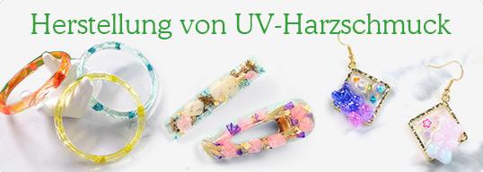 Herstellung von UV-Harzschmuck