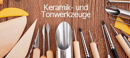 Keramik- und Tonwerkzeuge