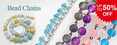 Bead Chains UP TO 50% OFF