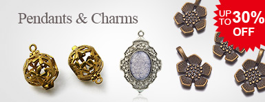Pendants & Charms Up To 30% OFF