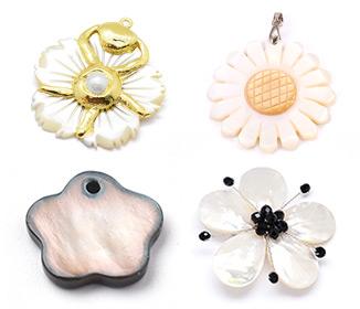 Flor Colgantes de Shell