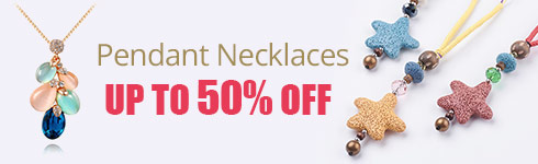 Pendant Necklaces UP TO 50% OFF