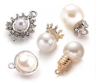 Colgantes de Perlas de Acrílico