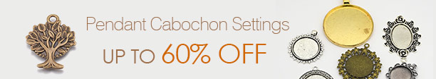 Pendant Cabochon Settings UP TO 60% OFF