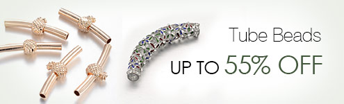 Tube Beads UP TO 55% OFF