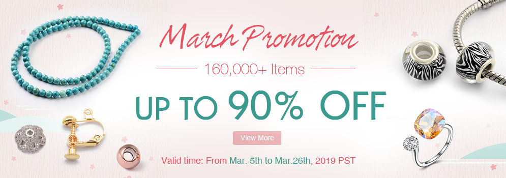 March PROMOTION 160,000+ Items Up to 90% OFF