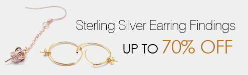 Sterling Silver Earring Findings UP TO 70% OFF