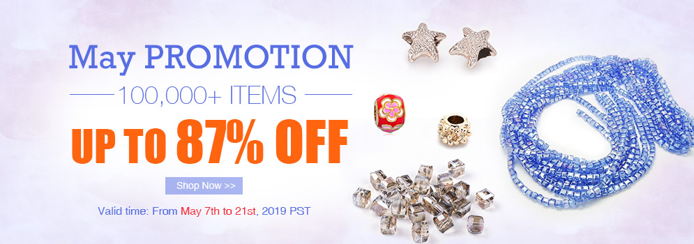 May Promotion 100,000+ Items Up To 87% OFF