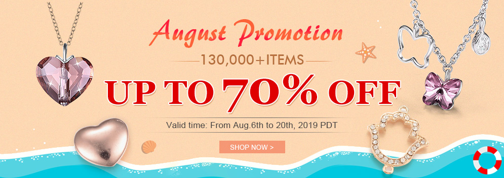 August Promotion  130,000+ Items Up to 70% OFF