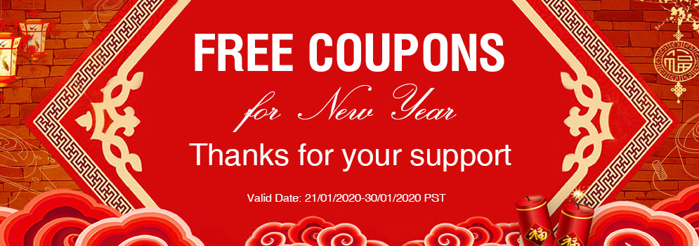 Free Coupons For New Year