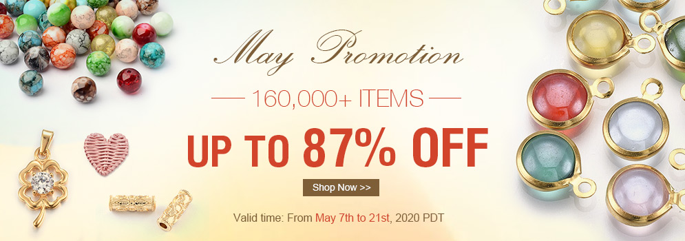 May Promotion 160,000+ Items Up to 87% OFF