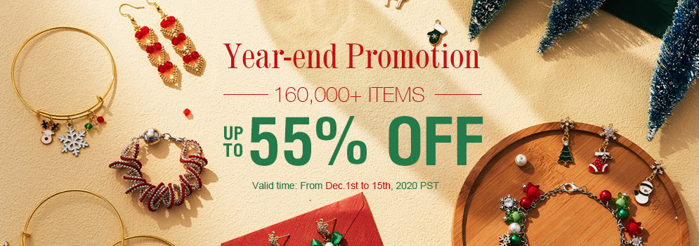Year-end Promotion 160,000+ Items Up to 55% OFF