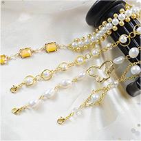1934 Classic Pearl Beaded Wedding Bracelets