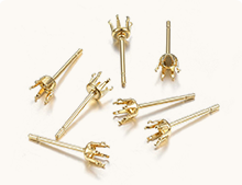 Prong Earring Settings