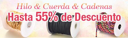 Hilo & Cuerda & Cadenas Hasta 55% de Descuento