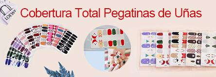 cobertura total pegatinas de uñas