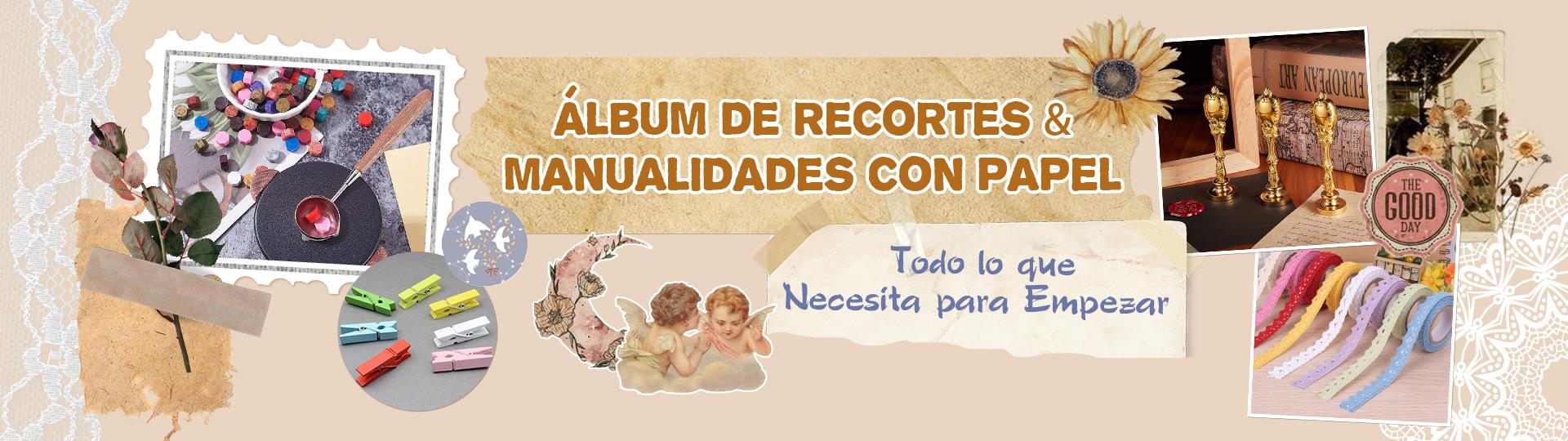 Álbum de Recortes & Manualidades con Papel