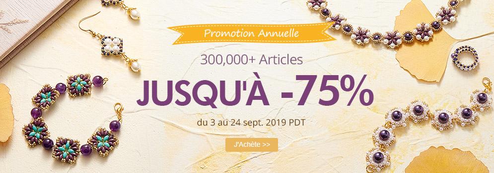 Promotion Annuelle 300,000+ Articles Jusqu'à -75%