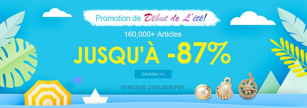 Promotion de Début de L'été! 160,000+ Articles Jusqu'à -87%
