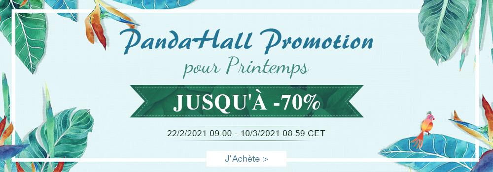 PandaHall Promotion pour Printemps Jusqu'à -70%