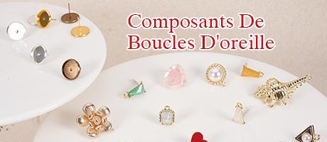 Composants De Boucles D'oreille
