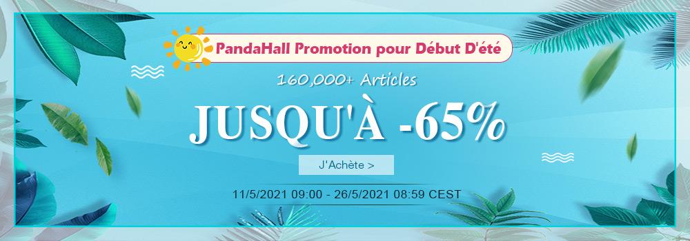 PandaHall Promotion pour Début D'été 160,000+ Articles Jusqu'à -65%
