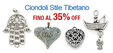 Ciondoli Stile Tibetano FINO Al 35% OFF