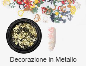 decorazione in metallo
