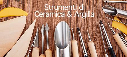 Strumenti di Ceramica & Argilla
